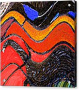 Turkey Dinosaur In Hill Country Acrylic Print