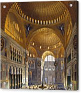 Turkey: Hagia Sopia, 1852 Acrylic Print by Granger