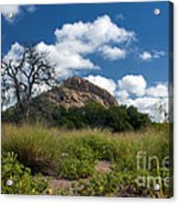Turkey Hill Acrylic Print