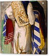 Turkish Carpet Seller, 1841 Acrylic Print