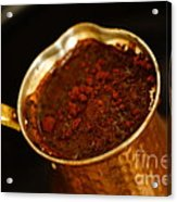 Turkish Coffee Acrylic Print