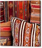 Turkish Cushions 01 Acrylic Print by Rick Piper Photography