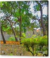 Turkish Flora Acrylic Print