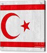 Turkish Republic Of Northern Cyprus Flag Acrylic Print