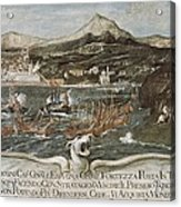 Turkish-venetian Wars. War Of Candia Or Acrylic Print