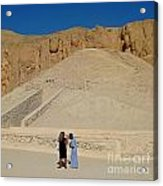 Turn Left At The Next Pile Of Sand Acrylic Print