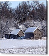 Turn The Page Winter Edition Acrylic Print