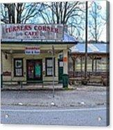 Turners Corner Acrylic Print by Bob Jackson