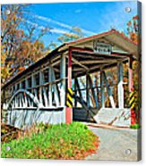 Turner's Covered Bridge Acrylic Print