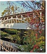 Turner's Covered Bridge Acrylic Print