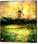 Turning Windmill Acrylic Print