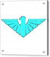 Turqoise Thunderbird 2 Acrylic Print