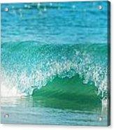 Turquois Waves  Acrylic Print