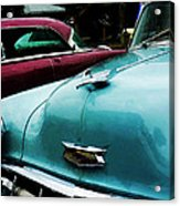 Turquoise Bel Air Acrylic Print