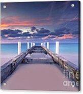 Turquoise Paradise Acrylic Print