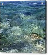 Turquoise Sea Acrylic Print