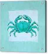 Turquoise Seashells I Acrylic Print