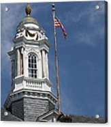 Turret Main Post Office Annapolis Acrylic Print