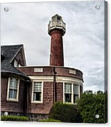 Turtle Rock Light House In Philly Acrylic Print