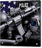 Tuscaloosa Police Acrylic Print by Gary Yost