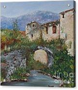 Tuscan Bridge Acrylic Print