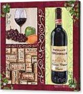 Tuscan Collage 2 Acrylic Print by Debbie DeWitt