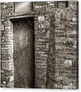 Tuscan Doorway Acrylic Print