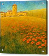 Tuscan Gold 1 Acrylic Print