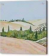 Tuscan Hillside One Acrylic Print