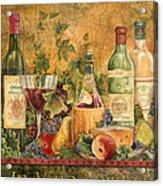 Tuscan In Vino Veritas Acrylic Print