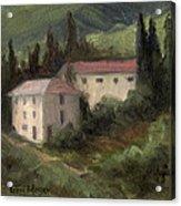 Tuscan Landscape II Acrylic Print