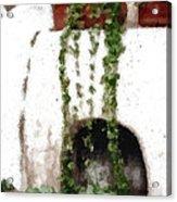 Tuscan Pottery Acrylic Print