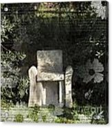 Tuscan Seat Acrylic Print