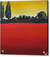 Tuscan Sunrise Acrylic Print