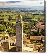 Tuscan Tower Acrylic Print
