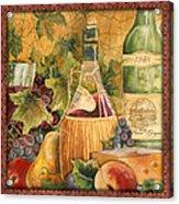 Tuscan Wine-c Acrylic Print