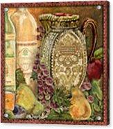 Tuscan Wine-d Acrylic Print