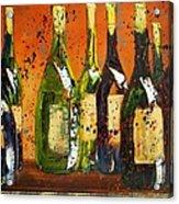 Tuscan Wine Acrylic Print