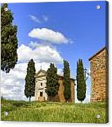 Tuscany - Cappella Di Vitaleta Acrylic Print
