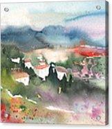 Tuscany Landscape 01 Acrylic Print