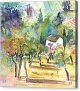 Tuscany Landscape 05 Acrylic Print