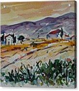 Tuscany Landscape 1 Acrylic Print