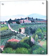 Tuscany Landscape Acrylic Print
