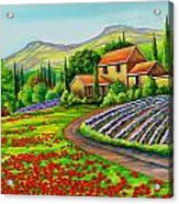 Tuscany Lavender  Acrylic Print