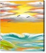 Tuscany Sea Acrylic Print