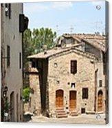 Tuscany Street Acrylic Print