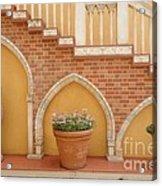 Tuscany Style Welcome Acrylic Print