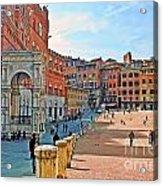 Tuscany Town Center Acrylic Print