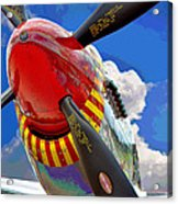 Tuskegee Airmen Fighter Plane Acrylic Print