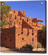 Tuzigoot Museum And Ruins Arizona Acrylic Print